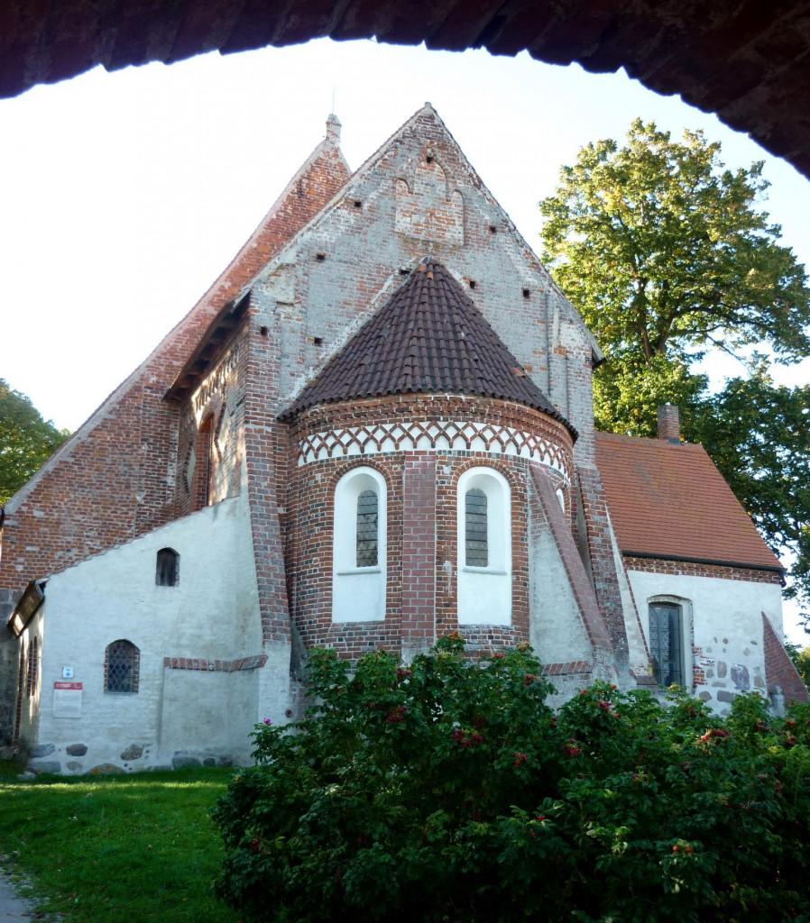 Pfarrkirche in Altenkirchen auf Rügen