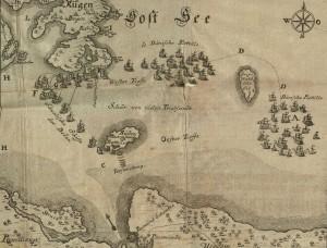 Abbildung der See-Battaille derer Königl. Dänisch- und Schwedi