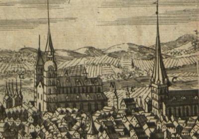Die Stadt Stralsund im Prospect.