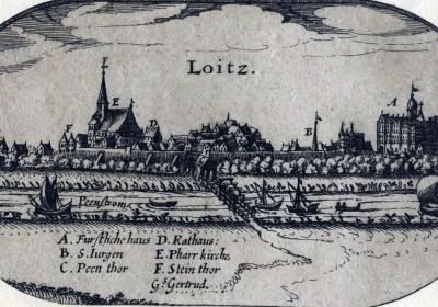 LOITZ-Gesamtansicht-Lubinus-Kupferstich-1618